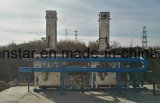 ガス送管の省エネの熱回復システム