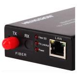 convertitore ottico autoadattabile della fibra del convertitore di media di Ethernet di 10/100m
