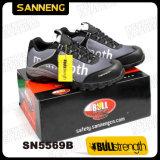 Ботинки безопасности Sn5569 крышки пальца ноги Sporty и атлетического взгляда стальные