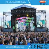 Visualización de LED grande al aire libre P4.81 para la etapa del concierto