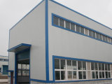 Diseño ligero del almacén de la estructura de acero