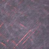 Couro artificial resistente do PVC do plutônio da abrasão para a mobília