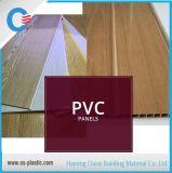 painel de parede médio do teto do PVC da impressão do sulco da largura de 20cm