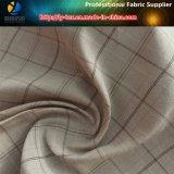Tessuto del plaid tinto filato di nylon, tessuto tinto filato di Shirting degli uomini (LY-YD1018)