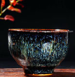 Cinese di ceramica Teaware della glassa del Teacup della porcellana di Chawan della tazza della ciotola del tè