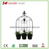 Metal revestido de pó decorativas aluguer de vasos para decoração de casa e jardim