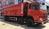 12의 바퀴 쓰레기꾼 4 차축 Dongfeng 판매를 위한 덤프 트럭 40 톤 팁 주는 사람