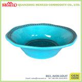 De cerámica colorido como el tazón de fuente de sopa plástico de la melamina/el tazón de fuente de arroz