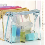 Sac imperméable à l'eau transparent clair de produit de beauté de course de mode de PVC
