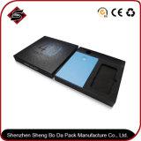 Toque personalizado de disco de papel caixa de papelão