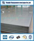 Placa de acero inoxidable laminada en caliente o fría de Rolld