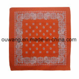 Fashion Promotionale Head Wrap Multi-Purpose Custom Printing Pirate Hat Coton Square Bandana As Bag Accessory