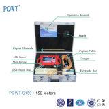 Détecteur profond professionnel d'eaux souterraines de long terme de la recherche Pqwt-S150