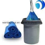 Heavy Drawstring Garbage Plastic Bag