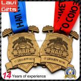 De beroemde Medailles van Rusland Weightlifting van het Embleem van de Leeuw van de Legering van het Zink van de Douane