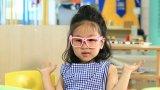 Blaues intelligentes Glassess für Kinder