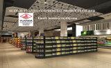 Ineinander greifen-Regal-rundes doppeltes seitliches Supermarkt-Hauptregal
