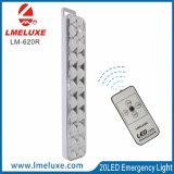 원격 제어를 가진 20의 LED 재충전용 LED 비상등
