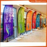 옥외 광고 선전용 비행 바닷가 깃발