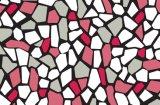 Oilproof, desechable, impermeable de PVC Característica patrón impreso de plástico transparente Mantel