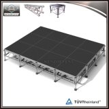 Piattaforma portatile di alluminio esterna per qualsiasi terreno della fase di migliore vendita