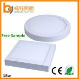 セリウムRoHSは暖かく白い天井灯の表面の台紙LEDの照明灯を承認した