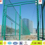 バスケットボールの保護網か階段チェーン・リンクの網