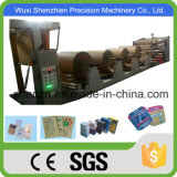 SGS aprobado Papel Kraft de 4 capas de la bolsa de cemento que hace la máquina
