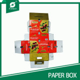 Voller gedruckter Pappkarton mit Griff