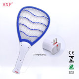 LED 빛을%s 가진 전기 모기 Swatter 라켓