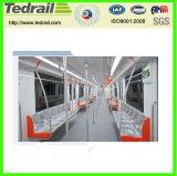 tren ferroviario del asiento 25z del aire de Coditioned de pasajero del coche del rastro del carro suave del coche