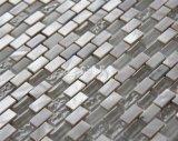 Frischwassershell-und des Marmor- und Kristallglas-10*20 Mosaik