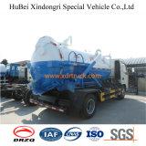 het Industriële Gebruik van de Vrachtwagen van de Zuiging van de Riolering van 4.0cbm