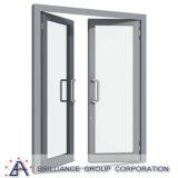 Tissu pour rideaux d'ouverture de tissu pour rideaux/porte d'oscillation vers l'intérieur
