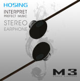 Écouteurs intra-auriculaires ronds 1.2FT à Bud Écouteurs pour téléphones cellulaires