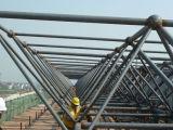Braguero de acero de la azotea de la estructura de acero del edificio Q235