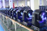 LED 전구를 가진 7PCS 15W는4 에서 1 눈 이동하는 헤드 및 단계 빛있다