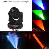 Luz principal movente do Gobo do diodo emissor de luz de Nj-200W 200W