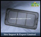 Acier inoxydable de paniers de nettoyage de soins médicaux 304 matériaux