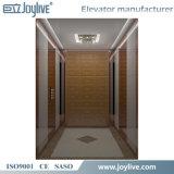 La última casa pequeña en el exterior ascensor ascensor