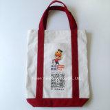 Saco orgânico personalizado do algodão do Tote relativo à promoção