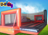 Aufblasbaren Fußball-Mannequin-Gewebe-Fußball-Kugel-Fußballplatz für Miete anpassen