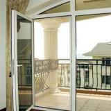 Portes d'Aluminumglass de vente de prix usine les meilleures/portes de tissu pour rideaux
