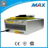 Inscription à commutation de Q maximum de laser de la fibre 50W sur l'aluminium