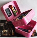 Beweglicher große Kapazitäts-doppelte Schicht-kosmetischer Fall