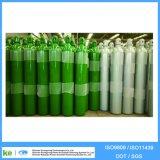 cylindre oxygène-gaz d'acier sans joint de 37mn 38L