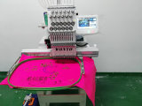 Machine de broderie à tête unique portable 3 fonctions T-shirt à capuchon Broderie plate