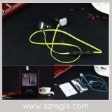 Mini fone de ouvido estereofónico do auscultadores dos auriculares de Bluetooth V4.1 do esporte do macarronete