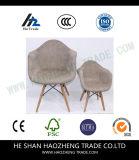 Hzpc160 Pano de madeira de madeira em tecido de madeira - azul claro