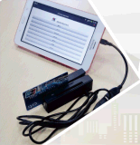 Lector de tarjetas chip / EMV 2016 Nueva RS232 y escritor MCR200